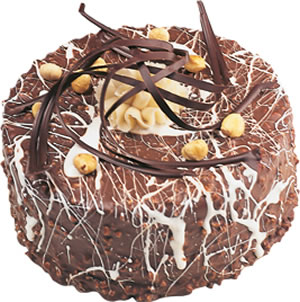 pasta satisi 4 ile 6 kisilik çikolatali yas pasta  Tekirdağ çiçek yolla