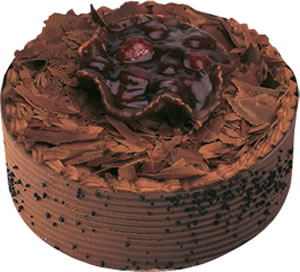 pasta satisi 4 ile 6 kisilik çikolatali yas pasta  Tekirdağ hediye çiçek yolla