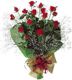 11 adet kirmizi gül buketi özel hediyelik  Tekirdağ internetten çiçek satışı