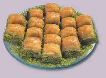 pasta tatli satisi essiz lezzette 1 kilo fistikli baklava  Tekirdağ online çiçek gönderme sipariş