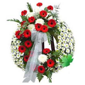 Cenaze çelengi cenaze çiçek modeli  Tekirdağ anneler günü çiçek yolla
