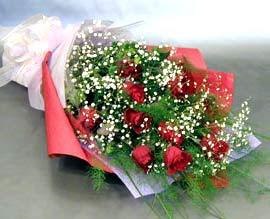 10 adet kirmizi gül çiçegi gönder  Tekirdağ çiçek online çiçek siparişi