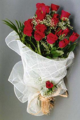 10 adet kirmizi güllerden buket çiçegi  Tekirdağ çiçek yolla , çiçek gönder , çiçekçi