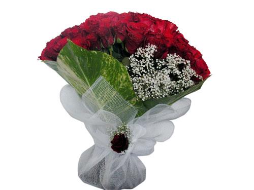25 adet kirmizi gül görsel çiçek modeli  Tekirdağ kaliteli taze ve ucuz çiçekler