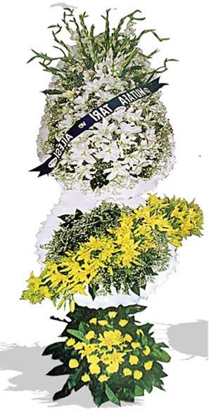 Dügün nikah açilis çiçekleri sepet modeli  Tekirdağ hediye çiçek yolla