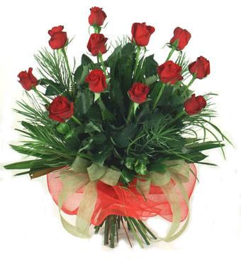 Çiçek yolla 12 adet kirmizi gül buketi  Tekirdağ online çiçekçi , çiçek siparişi