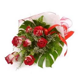 Çiçek gönder 9 adet kirmizi gül buketi  Tekirdağ cicek , cicekci