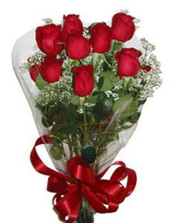 Çiçek sade gül buketi 7 güllü buket  Tekirdağ cicekciler , cicek siparisi