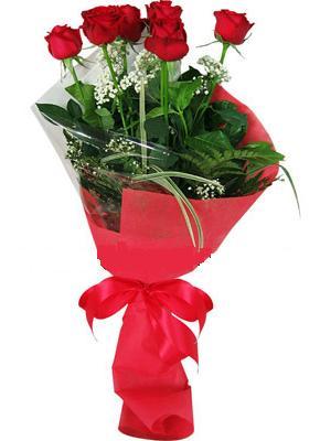 7 adet kirmizi gül buketi  Tekirdağ çiçek gönderme sitemiz güvenlidir