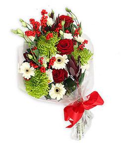 Karisik mevsim buketi çiçek tanzimi  Tekirdağ online çiçek gönderme sipariş