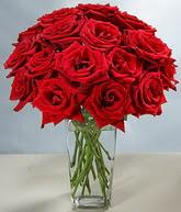 Tekirdağ internetten çiçek satışı  cam vazoda 11 kirmizi gül  Tekirdağ çiçek servisi , çiçekçi adresleri