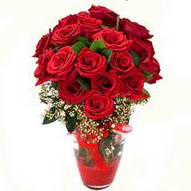 Tekirdağ çiçekçiler   9 adet kirmizi gül