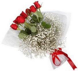 7 adet essiz kalitede kirmizi gül buketi  Tekirdağ çiçek servisi , çiçekçi adresleri