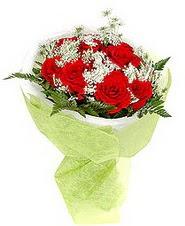 Tekirdağ hediye çiçek yolla  7 adet kirmizi gül buketi tanzimi