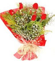 Tekirdağ çiçek online çiçek siparişi  5 adet kirmizi gül buketi demeti