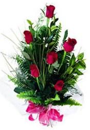 Tekirdağ online çiçekçi , çiçek siparişi  5 adet kirmizi gül buketi hediye ürünü