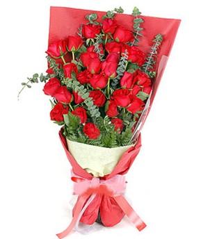 Tekirdağ çiçek satışı  37 adet kırmızı güllerden buket