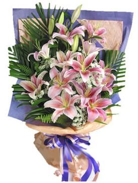7 dal kazablankadan görsel buket  Tekirdağ yurtiçi ve yurtdışı çiçek siparişi
