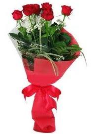 Çiçek yolla sitesinden 7 adet kırmızı gül  Tekirdağ internetten çiçek siparişi