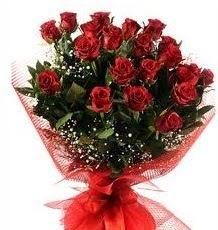 İlginç Hediye 21 Adet kırmızı gül  Tekirdağ online çiçek gönderme sipariş