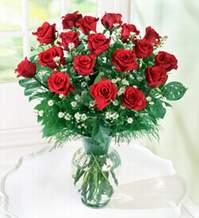 Tekirdağ internetten çiçek siparişi  9 adet mika yada vazoda kirmizi güller