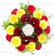 Tekirdağ internetten çiçek satışı  13 adet mevsim çiçeğinden görsel buket