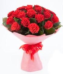 15 adet kırmızı gülden buket tanzimi  Tekirdağ çiçekçiler