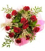 12 adet kırmızı gül buketi  Tekirdağ hediye sevgilime hediye çiçek