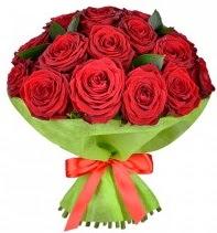 11 adet kırmızı gül buketi  Tekirdağ 14 şubat sevgililer günü çiçek