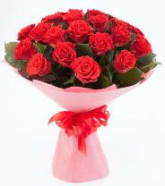 12 adet kırmızı gül buketi  Tekirdağ çiçekçiler