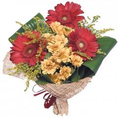 karışık mevsim buketi  Tekirdağ internetten çiçek satışı