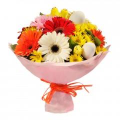 Karışık mevsim buketi Mevsimsel çiçek  Tekirdağ online çiçek gönderme sipariş