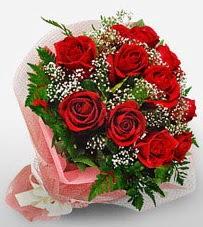 12 adet kırmızı güllerden kaliteli gül  Tekirdağ cicek , cicekci