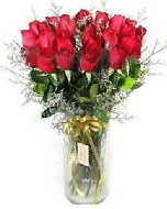 27 adet vazo içerisinde kırmızı gül  Tekirdağ çiçek yolla