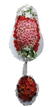 çift katlı düğün açılış sepeti  Tekirdağ internetten çiçek siparişi