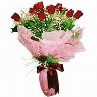 Tekirdağ çiçekçiler  12 adet kirmizi kalite gül