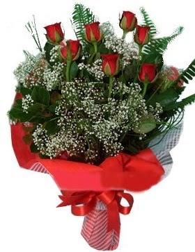 7 kırmızı gül buketi  Tekirdağ kaliteli taze ve ucuz çiçekler