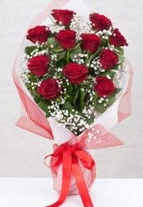 11 kırmızı gülden buket çiçeği  Tekirdağ hediye sevgilime hediye çiçek