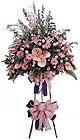 Tekirdağ online çiçekçi , çiçek siparişi   Ferforje Pembe kazablanka