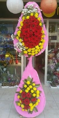 Çift katlı düğün nikah açılış çiçek modeli  Tekirdağ çiçek siparişi vermek