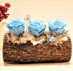 Solmayan gül şoklanmış gül  Tekirdağ online çiçek gönderme sipariş
