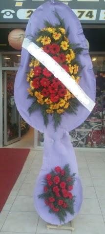 Çift katlı nikah düğüne çiçek modeli  Tekirdağ online çiçek gönderme sipariş