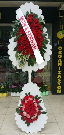 Çift katlı düğün nikah çiçeği modeli  Tekirdağ çiçekçiler