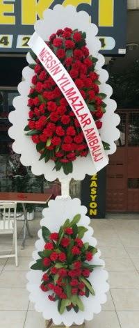 Çift katlı düğün nikah çiçeği modeli  Tekirdağ çiçek siparişi sitesi