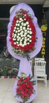 Çift katlı işyeri açılış çiçek modeli  Tekirdağ çiçekçi mağazası
