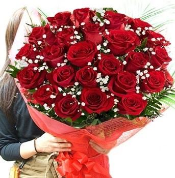 Kız isteme çiçeği buketi 33 adet kırmızı gül  Tekirdağ çiçek gönderme