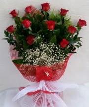 11 adet kırmızı gülden görsel çiçek  Tekirdağ ucuz çiçek gönder