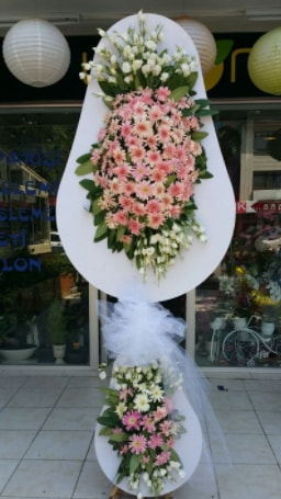 Çift katlı özel şahane sepet çiçeği  Tekirdağ çiçek , çiçekçi , çiçekçilik