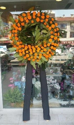 Cenaze çiçeği cenaze çelengi çiçek modeli  Tekirdağ çiçek satışı