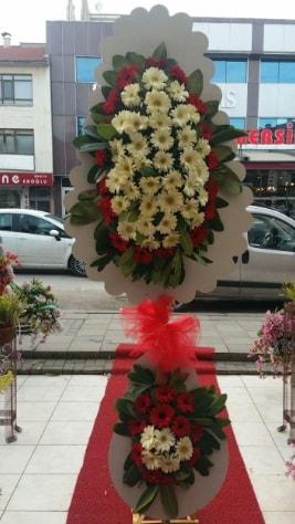 Çift katlı düğün açılış çiçeği  Tekirdağ ucuz çiçek gönder